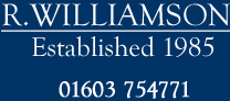 R.Williamson – Sheds and Shed Builders in Norwich,Norfolk